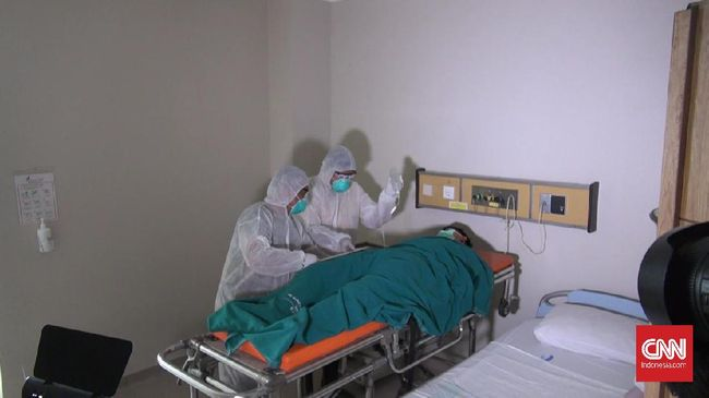 ASN yang bekerja di bagian Perpustakaan dan Kearsipan Daerah (Perpusda) Pemkot Serang meninggal dalam perawatan di RSUD Pasar Minggu dengan status PDP.
