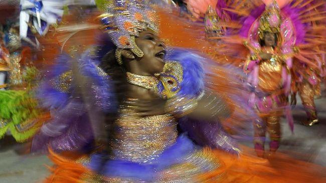 Karnaval Rio yang setiap tahunnya digelar dengan meriah di Rio de Janeiro, Brasil, tahun ini dibatalkan demi mencegah penyebaran virus Corona.