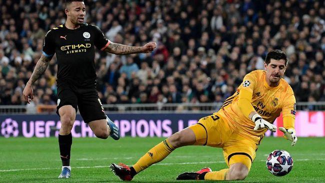 Real Madrid mengalami petaka dalam kurun waktu delapan menit ketika menjamu Manchester City pada babak 16 besar Liga Champions.