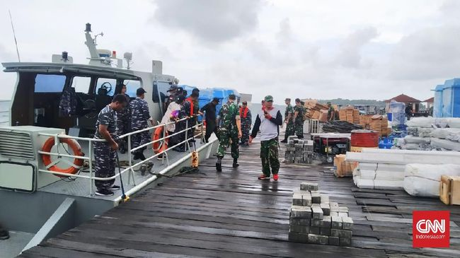 Ratusan WNI dijadwalkan tiba di Pulau Sebaru Kecil pukul 14.00 WIB untuk menjalani karantina dan observasi risiko virus corona.
