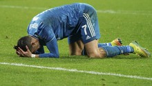 Ronaldo Lemah Lawan Lyon di Liga Champions