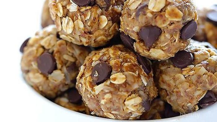 Resep Oatmeal Snack: No Bake Energy Bites