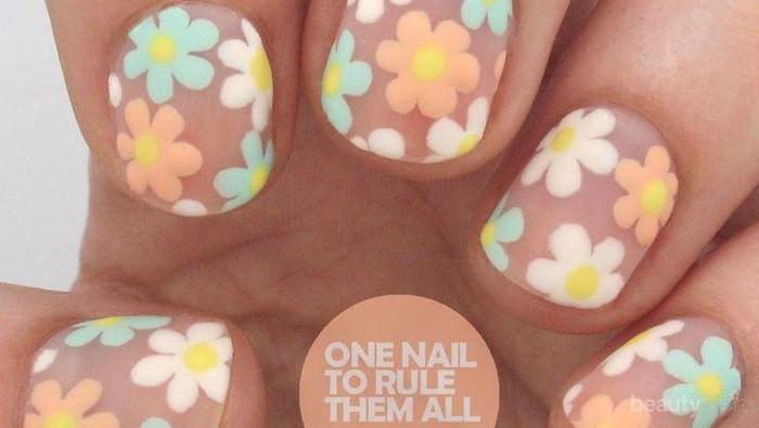 Inspirasi Nail Art untuk Musim Panas