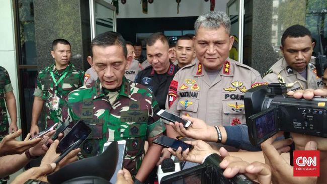 Kapolda Sumatera Utara Irjen Martuani Sormin menyebut dua orang merencanakan rusuh saat demo Omnibus Law UU Ciptaker.