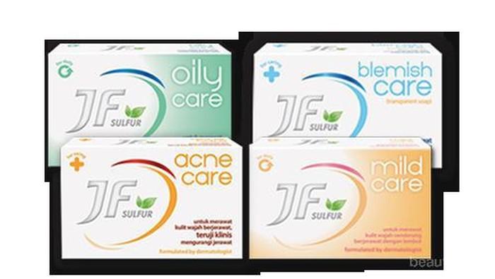 Varian Sabun Pembersih Wajah untuk Kulit Berjerawat dari JF Sulfur