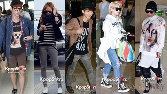 Airport Fashion Terbaik Idola Kpop (Bagian 1)