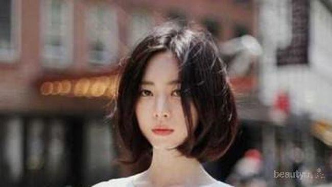 Contek 6 Model Gaya Rambut Pendek Untuk Wajah Bulat Ala Selebriti
