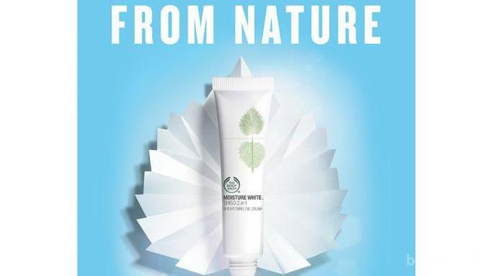 Review Pengguna: The Body Shop Moisture White Shiso 2 in 1 Brightening Eye Cream