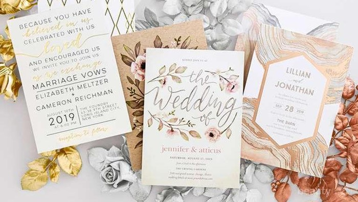 Buat Tamu Kagum Dengan Inspirasi Undangan Pernikahan Yang Eyecathing