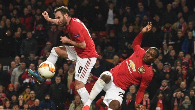 Keberuntungan memainkan peran besar dalam hasil positif Manchester United dalam laga 32 besar Liga Europa melawan Club Brugge.