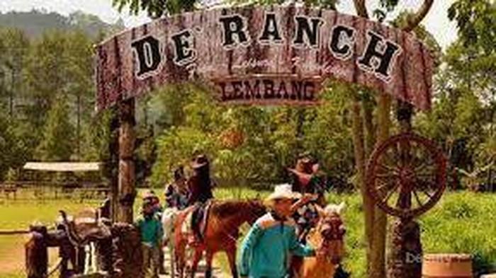 Serunya Belajar Berkuda di De'Ranch, Bandung
