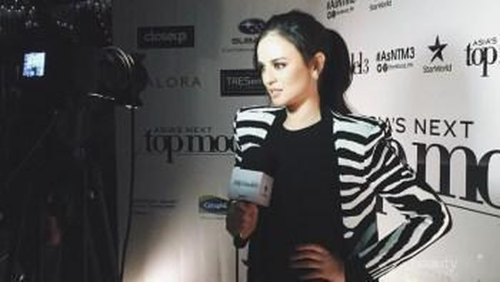 Inspirasi Gaya Host Asia's Next Top Model Georgina Wilson