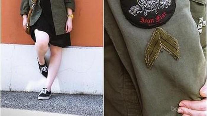 Gaya Keren & Stylish ala Army Look