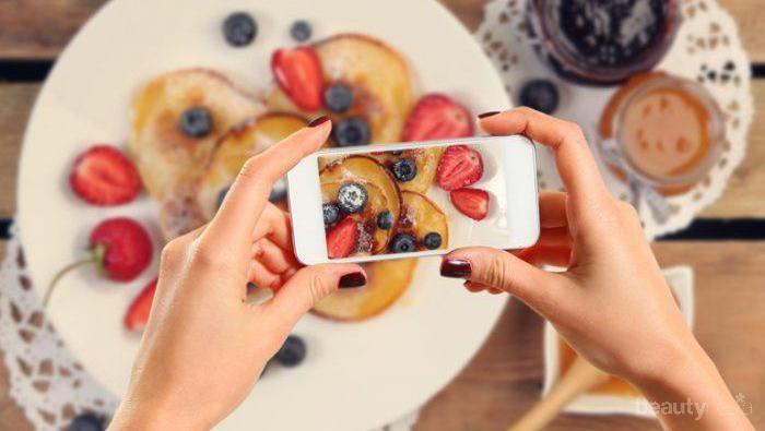 [FORUM] Kamu punya kebiasaan foto makanan sebelum dimakan gak?