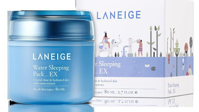 Review Pengguna: Laneige Water Sleeping Pack_EX