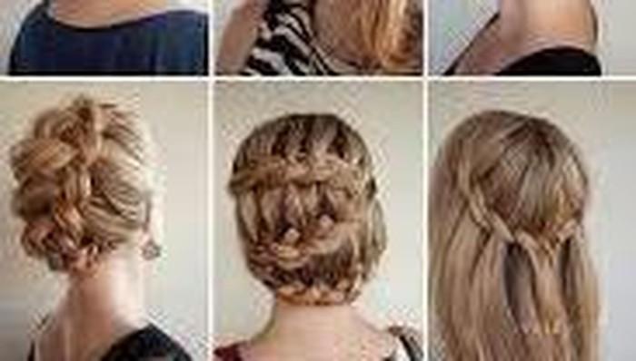 Mempercantik Tampilan Dengan Model Rambut Kepang
