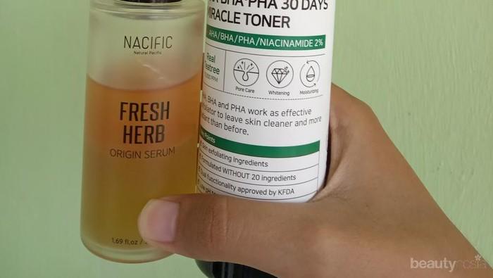 [FORUM] Kenapa pakai Toner Some By Mi dan Serum Nacific Fresh Herb secara bersamaan bikin aku pusing? Ada yang ngalamin juga?