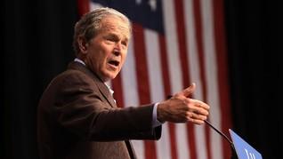 Eks Presiden Bush Sebut Demo Antirasisme Kegagalan Tragis AS