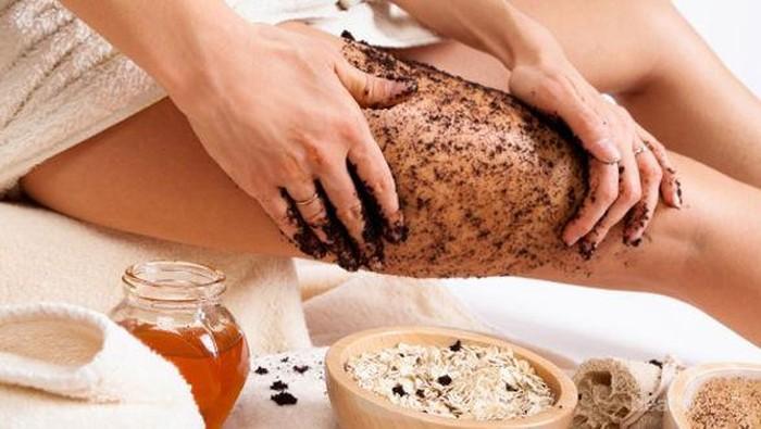 Body Scrub untuk Kulit Kering