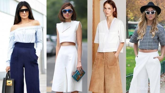 Ladies, Ini Jenis Atasan yang Paling Cocok Dipadukan dengan Celana Kulot