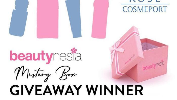 [GIVEAWAY ALERT] Pemenang 'Mystery Box' Berhadiah 3 Produk dari Kose Cosmeport