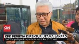 VIDEO: KPK Periksa Direktur Utama Jakpro