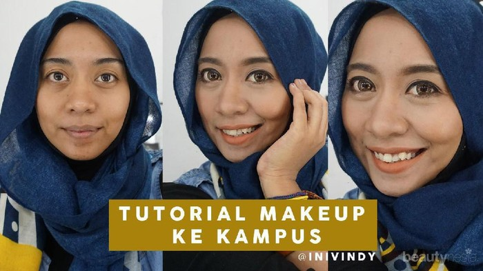 Makeup Natural untuk ke Kampus ala Beauty Blogger Vindy Harfrida
