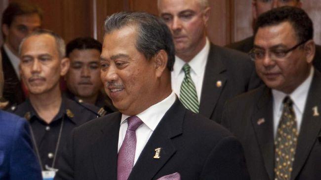 Presiden Partai Persatuan Pribumi Malaysia, Muhyiddin Yassin, akan dilantik menjadi Perdana Menteri kedelapan Malaysia besok, Minggu (1/3).