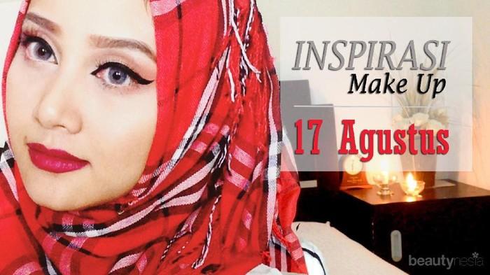 Gaya Makeup 17 Agustusan oleh Beauty Vlogger Linda Kayhz