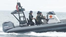Lokasi Karantina Pulau Sebaru Kecil Dijaga Pasukan Katak
