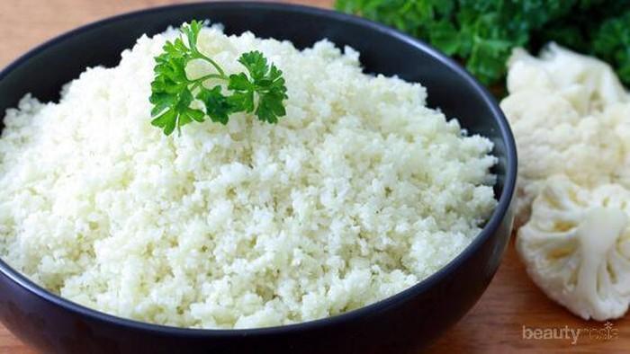 Takut Gemuk karena Makan Nasi? Coba Low-Carb Cauliflower Rice!