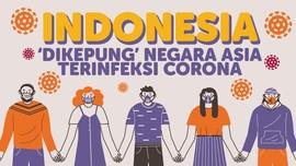 INFOGRAFIS: Indonesia 'Dikepung' Negara Terinfeksi Corona