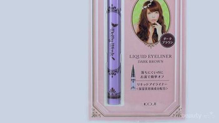 Koji Dolly Wink Liquid Eyeliner Dark Brown (Review)