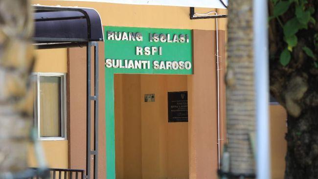 RSPI Sulianti Saroso merawat 9 pasien positif Corona, dan menambah ruang isolasinya menjadi 15 unit.