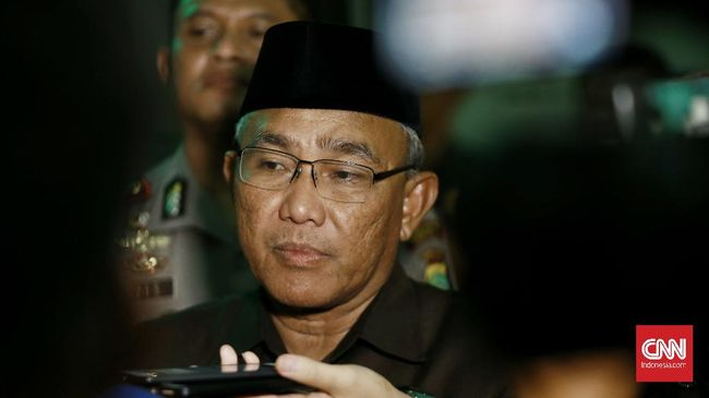 Walikota Depok Mohammad Idris. CNN Indonesia/Andry Novelino