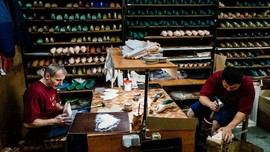 FOTO: Suasana Pabrik Sepatu Balet Legendaris di Rusia