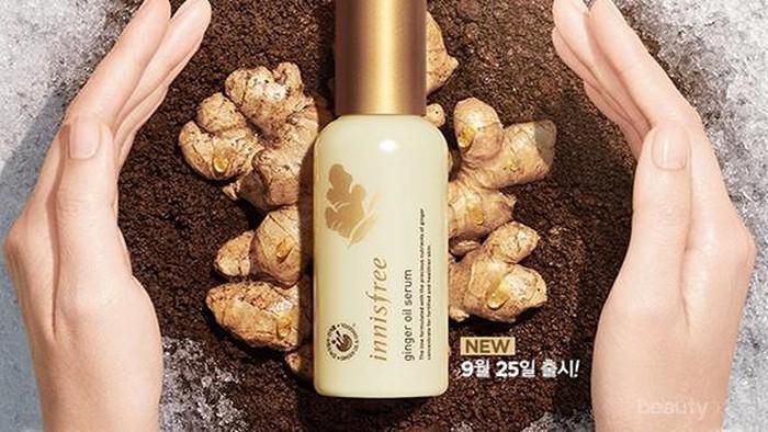 Rangkaian Produk Skincare Terbaru Ginger Oil dari Innisfree