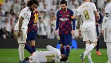 Daftar Pemain Absen Barcelona vs Real Madrid di El Clasico