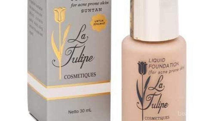 5 Rekomendasi Foundation Halal dari La Tulipe di Bawah Rp100 Ribu