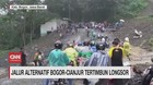 VIDEO: Jalur Alternatif Bogor-Cianjur Tertimbun Longsor