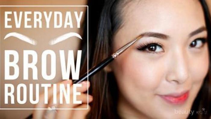Tips Sederhana Membentuk Alis untuk Makeup Harian
