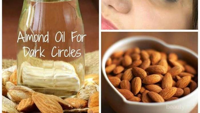 Cara Menggunakan Minyak Almond untuk Atasi Mata Panda
