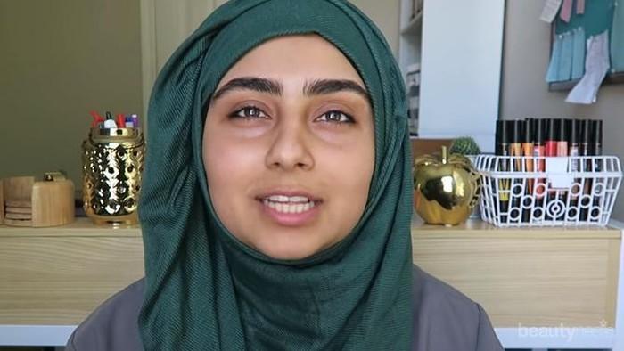 Tutorial Hijab Pashmina Crinkle Untuk Wajah Bulat
