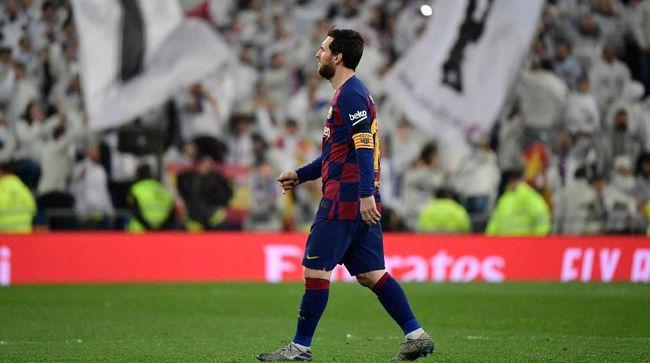 Presiden La Liga, Javier Tebas, merespons rumor bintang Barcelona Lionel Messi hengkang ke Inter Milan musim depan.