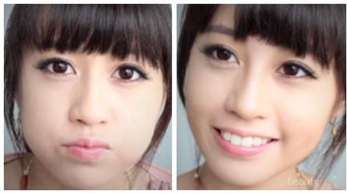 Tiruskan Wajah Dengan Makeup Sehari-hari