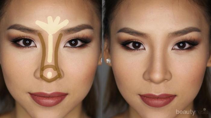 Buat Hidungmu Lebih Mancung Dalam 5 Menit Dengan Tutorial Kontur Hidung
