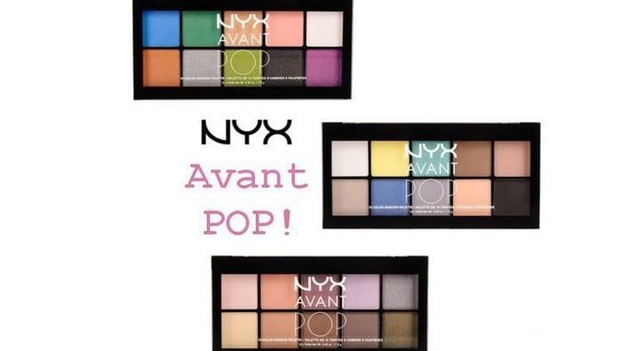 Review: NYX Avant Pop! Eyeshadow Palette