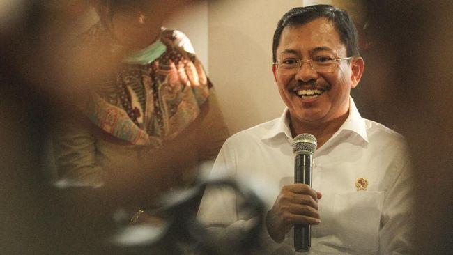 Kemenkes meminta anggaran Rp29 miliar yang disebut dari Balitbang Kemenkes untuk vaksin Nusantara ditanyakan langsung ke Terawan.
