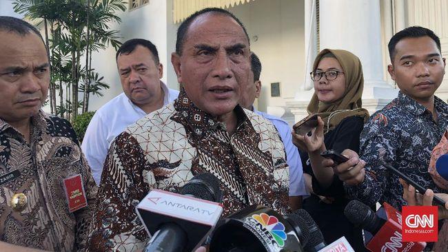 Gubernur Sumut, Edy Rahmayadi, meminta para wali kota dan bupati di wilayahnya harus siap disuntik vaksin virus corona.