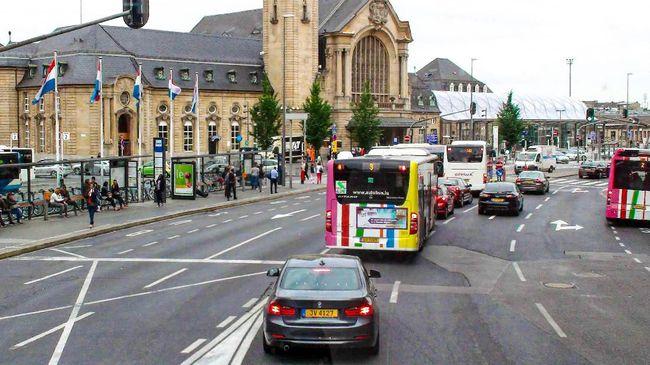 Luxembourg menjadi negara pertama di dunia yang menggratiskan transportasi umum.